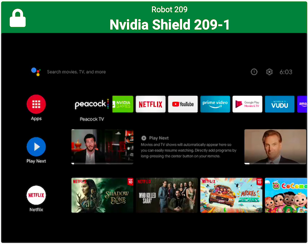 Testing your application in the Android TV ecosystem